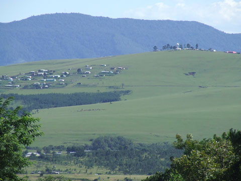 The hills of Umtata